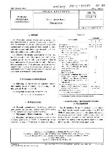 Kleje kauczukowe - Butaterm BN-76/6033-11