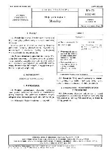 Kleje poliwinylowe Mozalep BN-76/6357-01