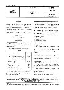Kleje poliwinylowe - Wikol BN-78/6357-03