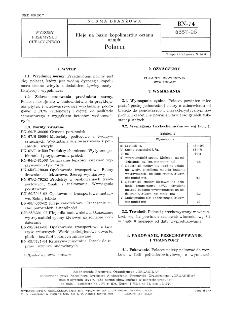 Kleje na bazie kopolimerów octanu - Polacet BN-74/6357-05