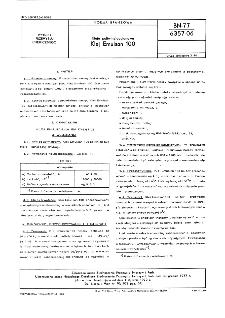 Kleje poliwinylooctanowe - Klej Emulsan 100 BN-77/6357-06