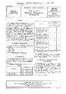 Kleje emulsyjne - Pronewil, Pronewil-A, Pronewil- M BN-86/6357-07
