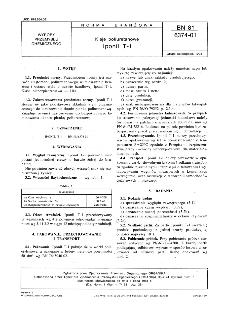 Kleje poliuretanowe - Iponil T-1 BN-81/6374-01