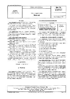 Kleje nitrocelulozowe - Butalast BN-70/6387-01