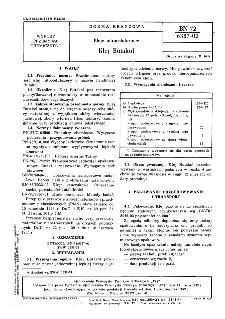 Kleje nitrocelulozowe - Klej Butakol BN-72/6387-02