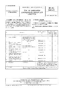 Klej do materiałów podłogowych tekstylnych LINOTOX BN-90/6393-05