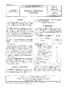 Osuszacz silikażelowy wapniowy BN-78/6016-13