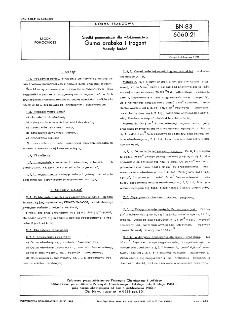 Środki pomocnicze dla włókiennictwa - Guma arabska i tragant - Metody badań BN-83/6060-21