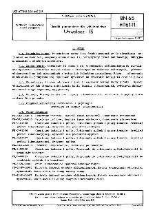 Środki pomocnicze dla włókiennictwa - Utrwalacz IS BN-65/6061-11