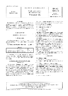 Środki pomocnicze dla włókiennictwa - Pretepon OL BN-80/6061-19