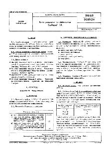 Środki pomocnicze dla włókiennictwa - Sulfapol TR BN-69/6061-24