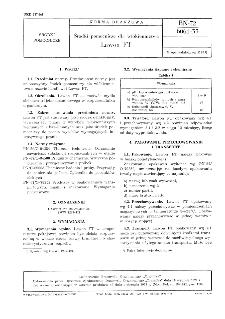 Środki pomocnicze dla włókiennictwa - Lawon FT BN-72/6061-33
