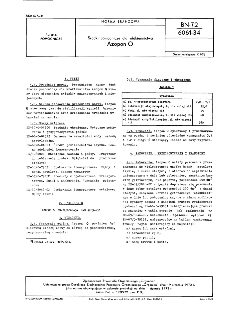 Środki pomocnicze dla włókiennictwa - Azopon O BN-72/6061-34