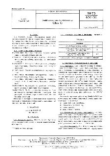 Środki pomocnicze dla włókiennictwa - Olan G BN-73/6061-36
