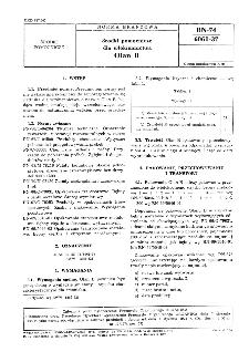 Środki pomocnicze dla włókiennictwa - Olan B BN-74/6061-37