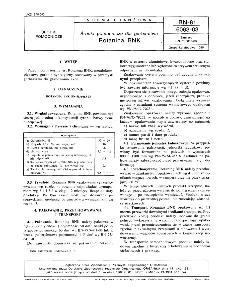 Środki pomocnicze dla garbarstwa - Rotanina BNK BN-81/6063-03