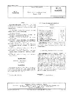 Środki pomocnicze dla garbarstwa - Likier K-1 BN-71/6063-05