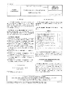 Środki pomocnicze dla garbarstwa - Sulfoerukol G BN-73/6063-11