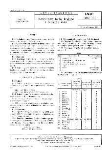 Kazeinowe farby kryjące i topy do skór BN-80/6063-19