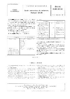 Środki pomocnicze dla garbarstwa - Roksol ST3K BN-84/6063-20/22