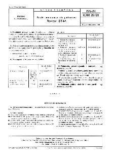Środki pomocnicze dla garbarstwa - Roksol ST4A BN-84/6063-20/23