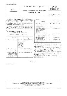 Środki pomocnicze dla garbarstwa - Roksol ST2A BN-84/6063-20/25