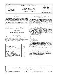 Środki pomocnicze dla gumowego - Faktysa brunatna BN-85/6064-04