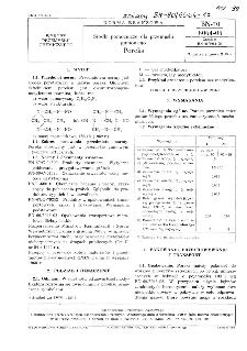 Środki pomocnicze dla gumowego - Poreks BN-70/6064-05