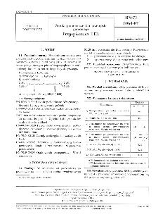 Środki pomocnicze dla gumowego - Przyspieszacz EFK BN-73/6064-07