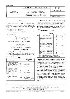 Środki pomocnicze dla przemysłu gumowego - Przyspieszacz Dipsam BN-81/6064-15