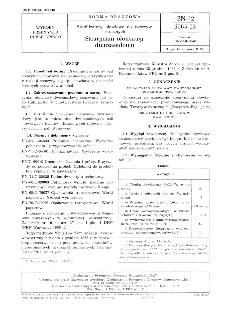 Stabilizatory ołowiowe do tworzyw sztucznych - Stearynian ołowiawy dwuzasadowy BN-72/6065-03