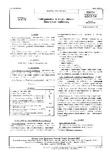 Środki pomocnicze do tworzyw sztucznych - Stearynian kadmowy BN-74/6065-04