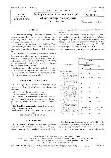 Środki pomocnicze do tworzyw sztucznych - Epoksydowany olej sojowy i rzepakowy BN-76/6065-11