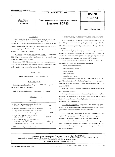 Środki pomocnicze do tworzyw sztucznych - Ergoterm SOP-13 BN-78/6065-14