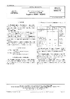 Stabilizatory cynoorganiczne do tworzyw sztucznych - Ergoterm BMB i BMB-S BN-79/6065-16