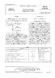 Środki pomocnicze - Ergoplast AzDO BN-84/6065-18