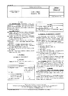 Środki do flotacji - Synpinol 30 BN-67/6066-01