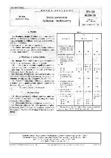 Środki pomocnicze - Glikocel techniczny BN-86/6069-05