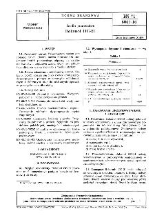 Środki pomocnicze - Rokanol OC-21 BN-71/6069-16