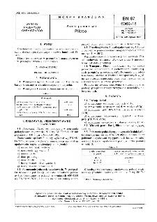 Środki pomocnicze - Pilasol BN-87/6069-18