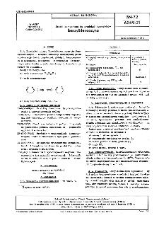 Środki pomocnicze do produkcji kosmetyków - Benzylidenoazyna BN-72/6069-21