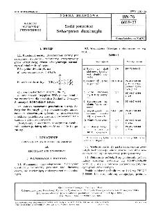 Środki pomocnicze - Sebacynian dwubutylu BN-76/6069-23
