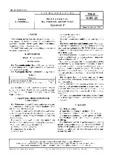 Środki pomocnicze dla przemysłu papierniczego - Spumol P BN-81/6069-26