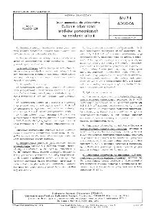 Środki pomocnicze dla włókiennictwa - Badanie odporności środków pomocniczych na działanie alkalii BN-74/6060-06