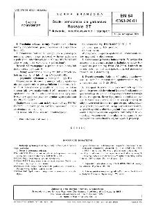Środki pomocnicze dla garbarstwa - Roksole ST - Pakowanie, przechowywanie i transport BN-84/6063-20.01