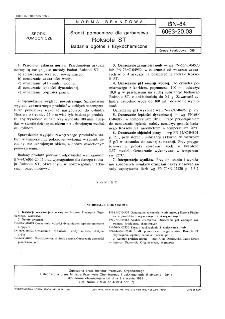 Środki pomocnicze dla garbarstwa - Roksole ST - Badania ogólne i fizykochemiczne BN-84/6063-20.03
