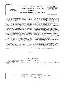Środki pomocnicze dla garbarstwa - Roksole ST - Oznaczenie zdolności emulgowania się i trwałości emulsji BN-84/6063-20/04