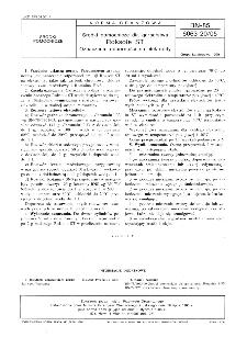 Środki pomocnicze dla garbarstwa - Roksole ST - Oznaczenie odporności na elektrolity BN-85/6063-20/05
