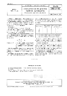 Środki pomocnicze dla garbarstwa - Garbniki syntetyczne - Oznaczanie początku wysalania BN-86/6063-21/06