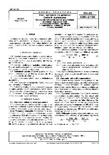 Środki pomocnicze dla garbarstwa - Garbniki syntetyczne - Oznaczanie całkowitej suchej pozostałości, substancji rozpuszczalnych i nierozpuszczalnych, garbników i niegarbników, substancji lotnych i liczby czystości BN-88/6063-21/08